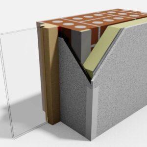 E-Line Reveal Insulation from Enviroform Solutions